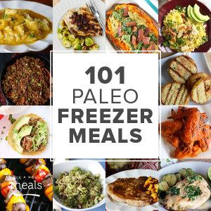 101 Paleo Freezer Meals