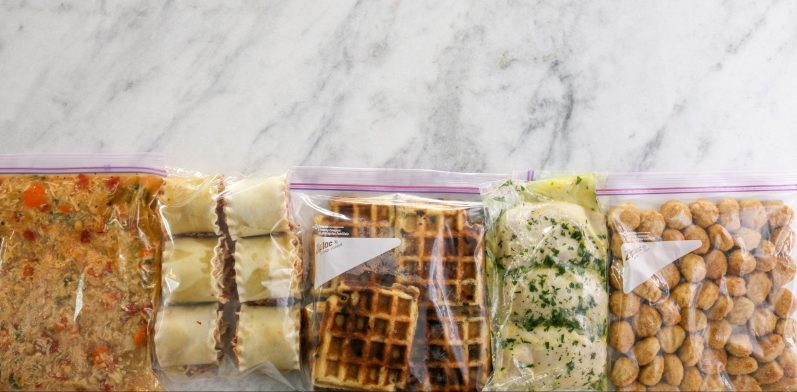 Easy Freezer Cooking to Save Time