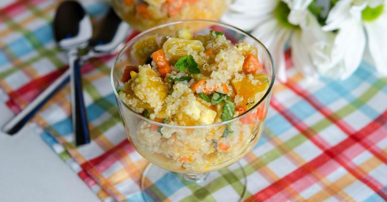 Quinoa Summer Salad- Freezer meal recipe