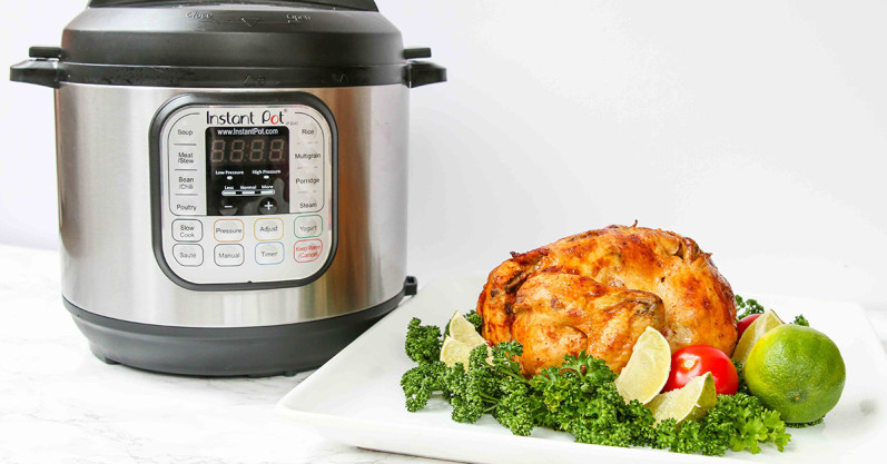 Instant Pot Paleo Indian Spiced Roast Chicken - Freezer Meal Recipe