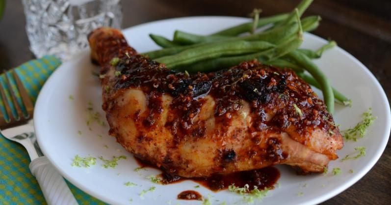 Spicy Garlic Lime Chicken - Freezer Meal Recipe