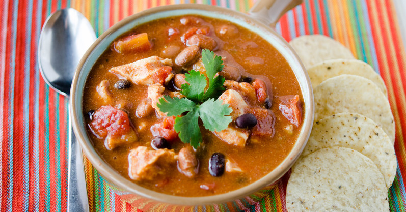 Chicken Taco Soup - Freezer Meal Recipe