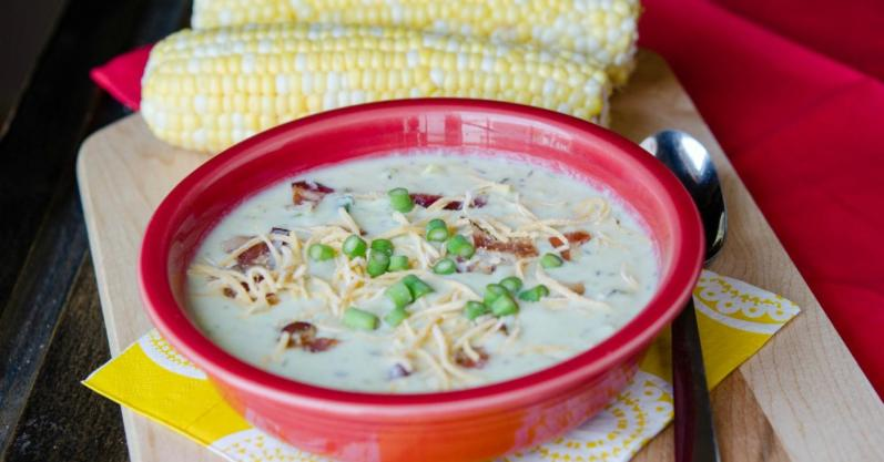 Sweet Summer Corn Chowder - Freezer Meals