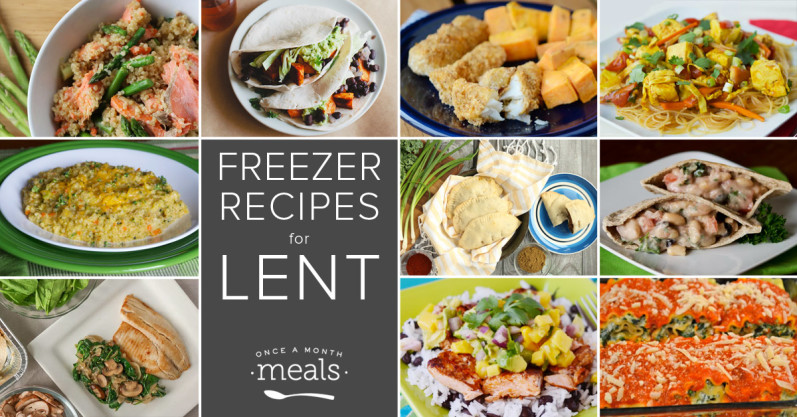 Freezer recipes for lent once a month meals freezer recipes for lent forumfinder Gallery