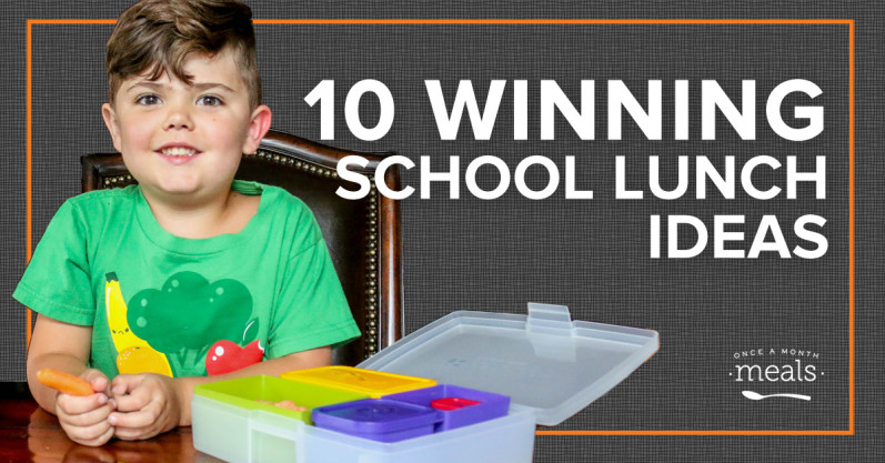 10 Winning School Lunch Ideas