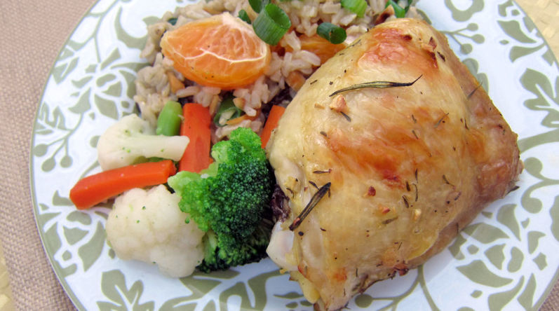 Citrus Herb Chicken Thighs
