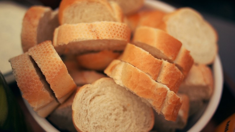 Homemade Bread and Cereal