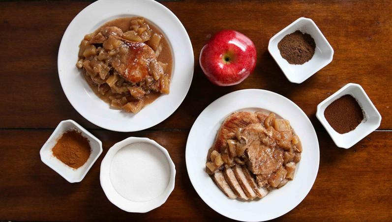 Apple Pie Pork Chops - Freezer Meal Recipe