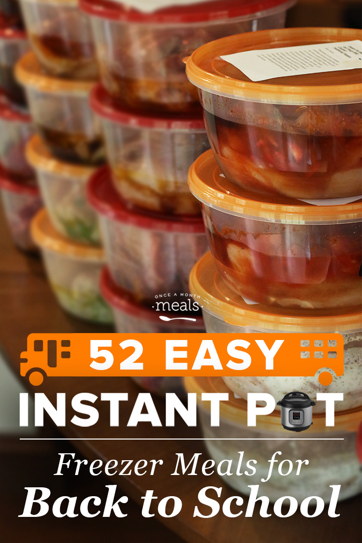 52 Easy Instant Pot Recipes for Back to School
