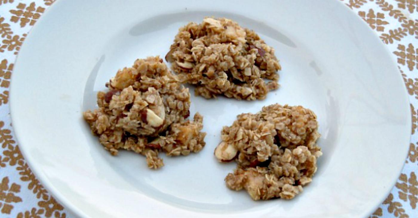 No Bake Apple Oatmeal Cookies