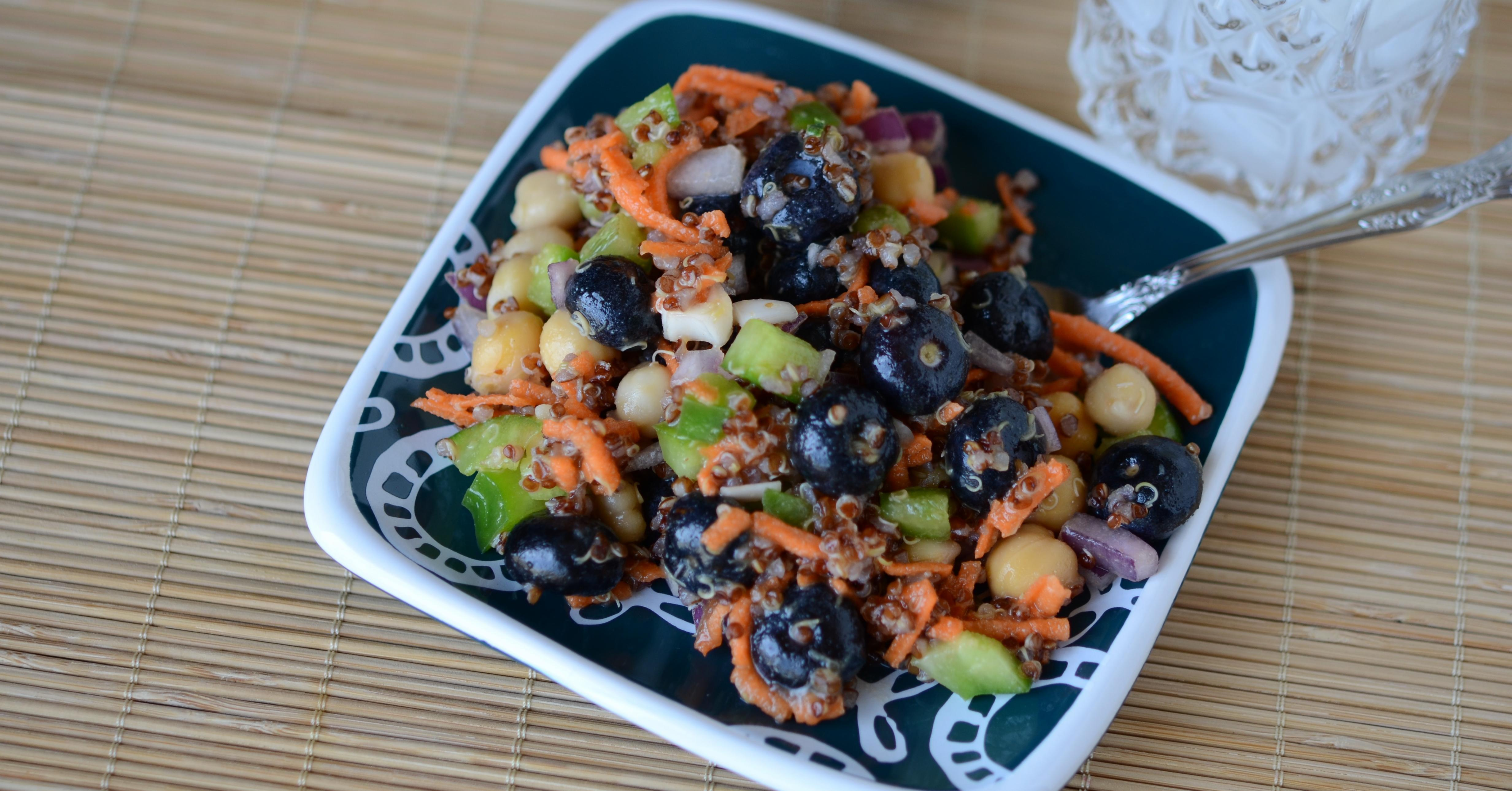 Simple Summer Porch Salad - Lunch Version | Once A Month Meals