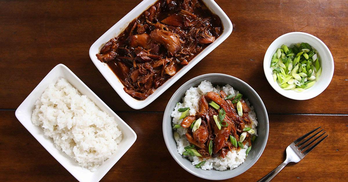 Instant Pot Honey Bourbon Chicken Traditional Dump And Go Dinner