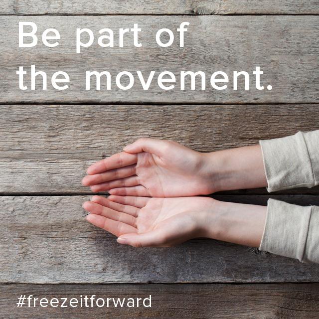 Freeze it Forward 2017