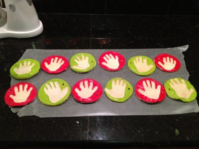 Homemade Handprint Mold