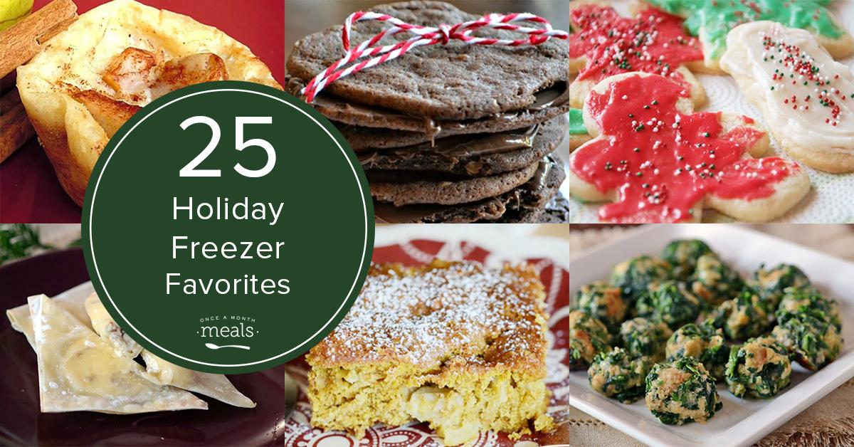 25 Holiday Freezer Favorites