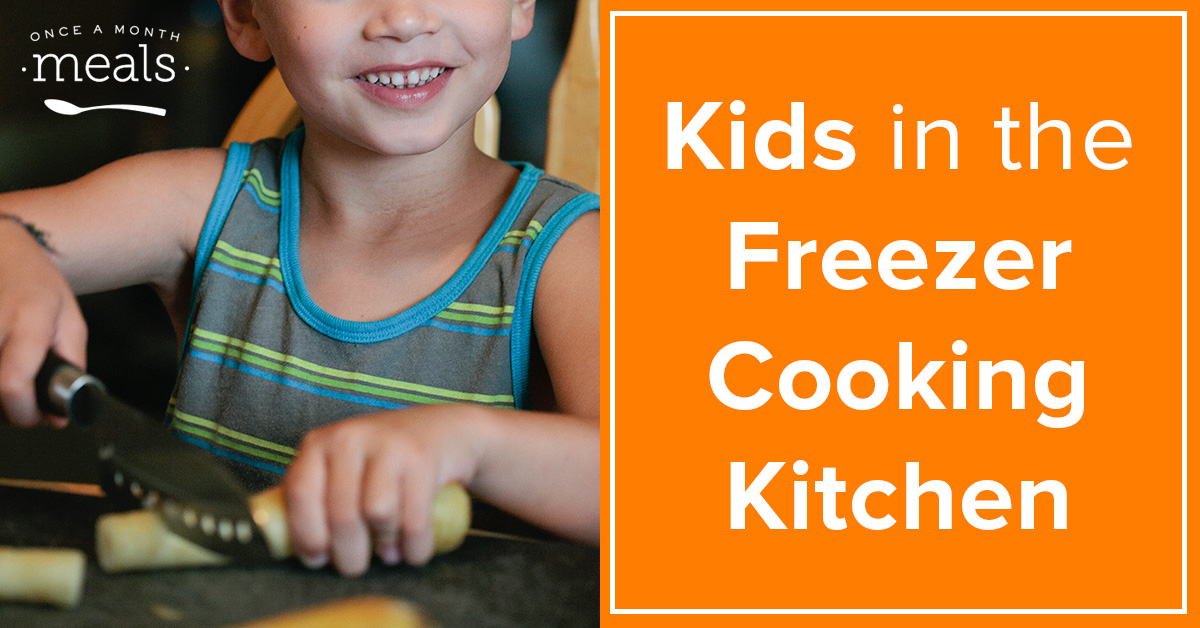 Kids in the Freezer Cooking Kitchen