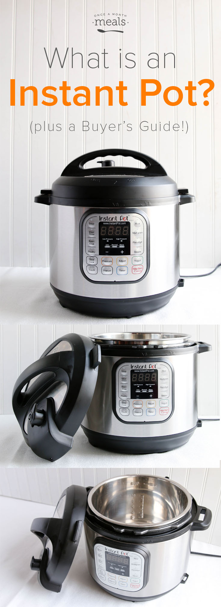 What is an Instant Pot? (and Buyer's Guide) - should I get one, what does it do, will it sit on the shelf, do I really need it?