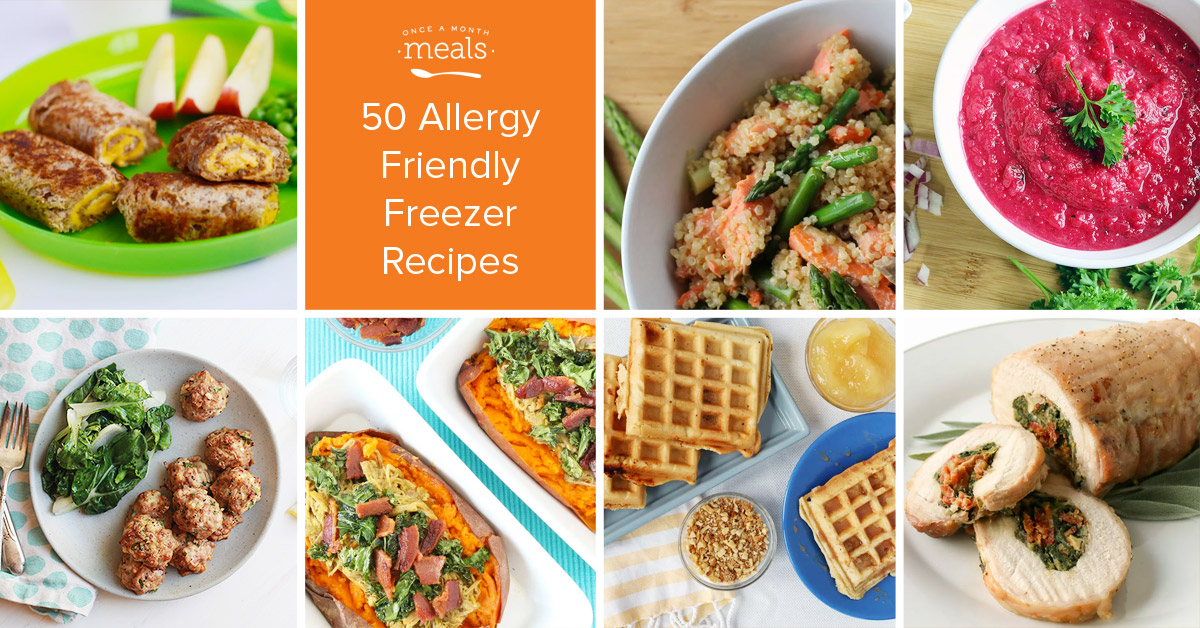 50 Allergy Friendly Recipes