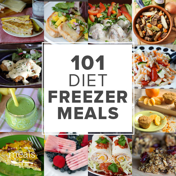 101 diet freezer meals once a month meals 101 healthy freezer meals forumfinder Choice Image