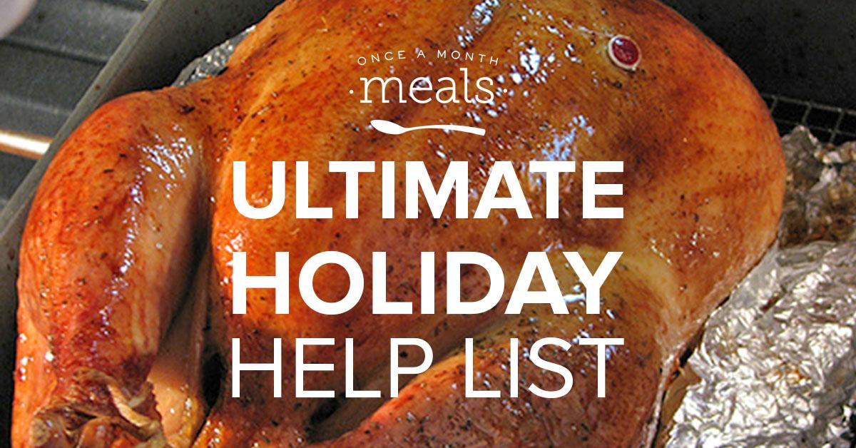 Ultimate Holiday Help List