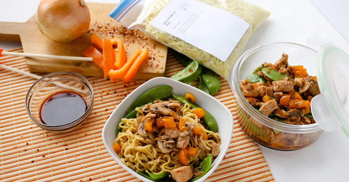 Easy chicken lo mein once a month meals forumfinder Images
