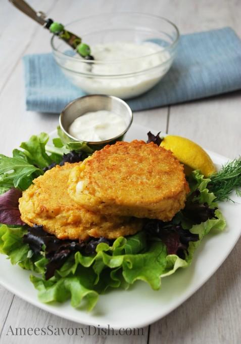OAMM Blog Partner Recipe - Salmon Patties
