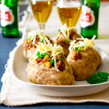OAMM Blog Partner Recipe - Shepherd's Pie Loaded Baked Potato
