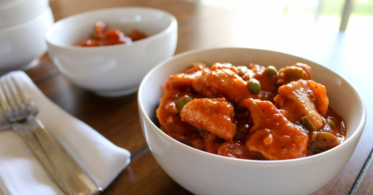 Better Than The Freezer Aisle Pf Chang S Spicy Orange Chicken Lunch Version Once A Month Meals