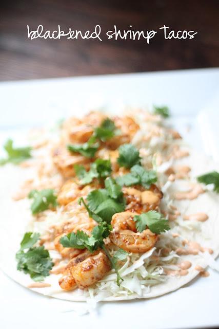 OAMM Blog Partner Recipe - Blackened Shrimp Tacos with Chipotle Aioli