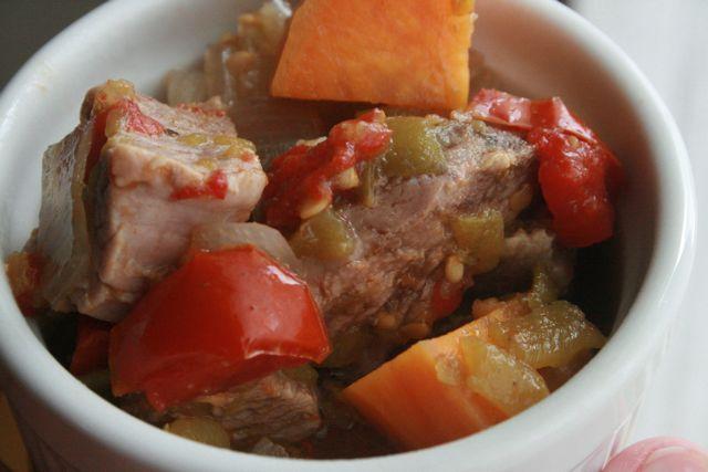 Cinco de Mayo Recipes - Mexican Pork and Sweet Potato Stew