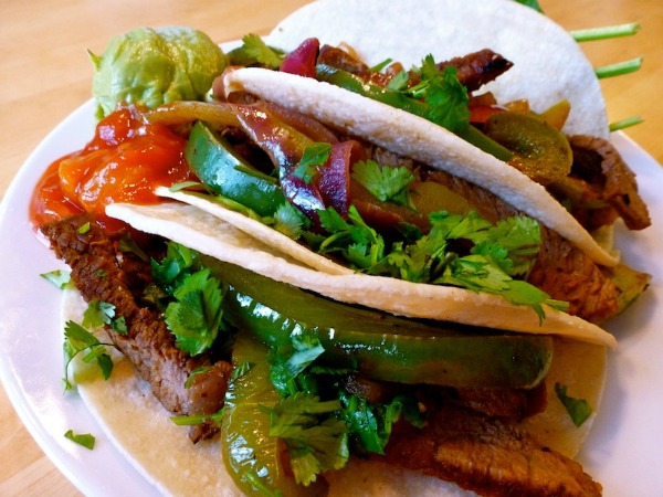 Cinco de Mayo Recipes - Moonlight Beef Fajitas