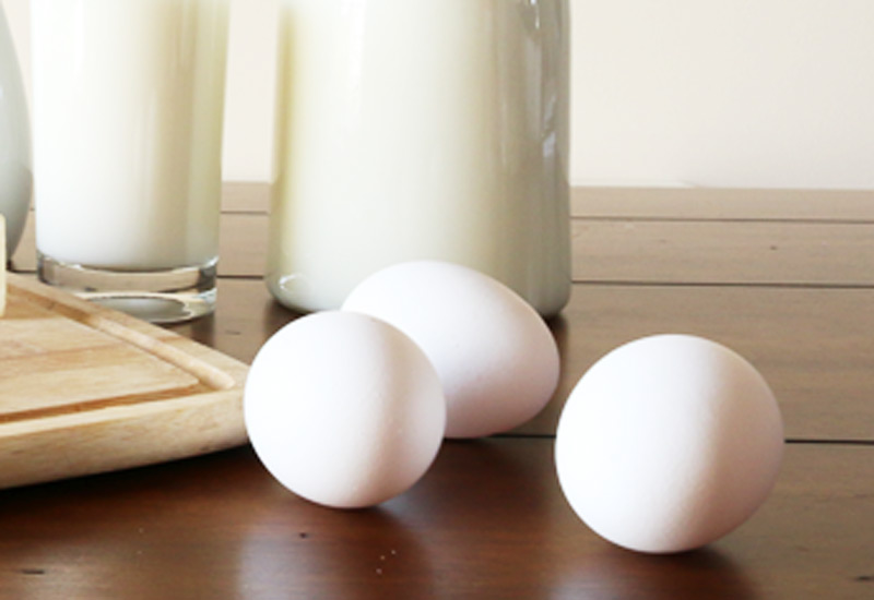 Freezing Dairy - Eggs