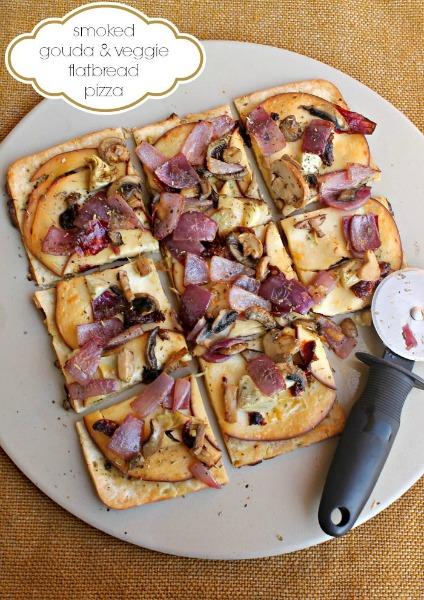 OAMM Blog Partner - Smoked Gouda Onion Pizza