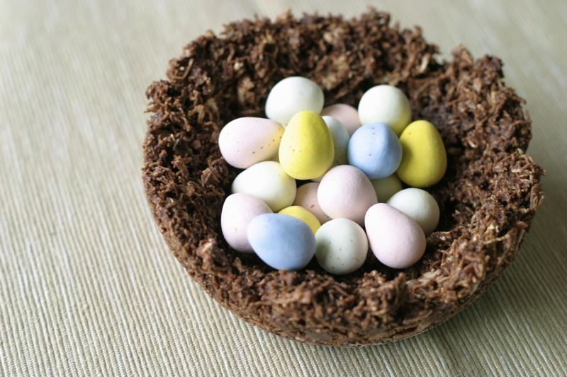 Edible Chocolate Robins Nest