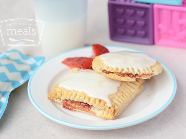 freezer friendly baked goods - Homemade Pop Tarts