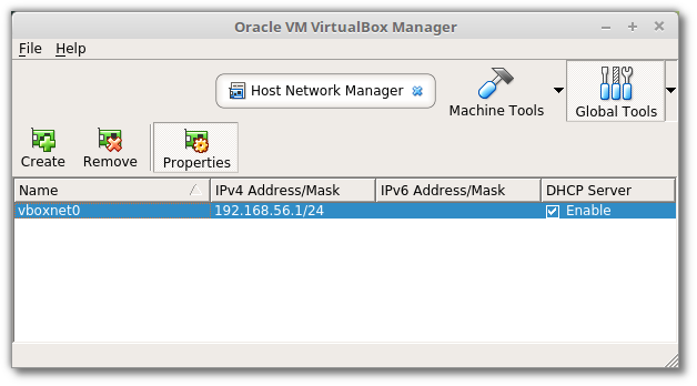 Host Network Manager