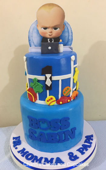 Boss Baby Cakes Charm S Cakes And Cupcakes