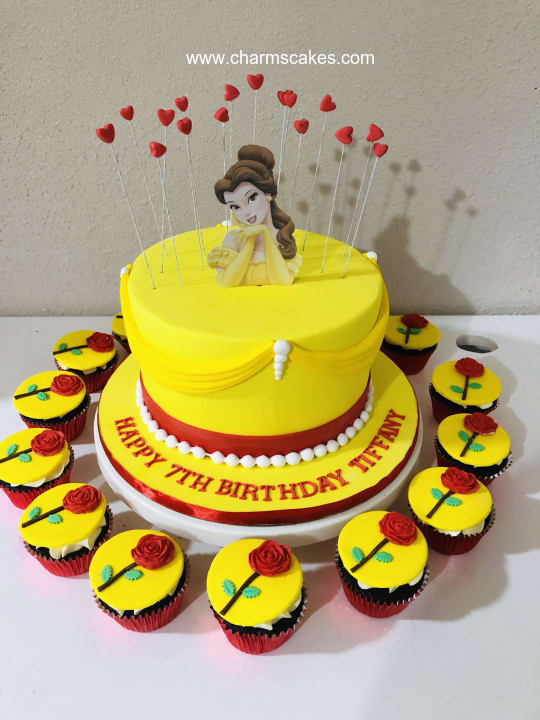 Custom Cake Beauty Charm S Cakes And Cupcakes