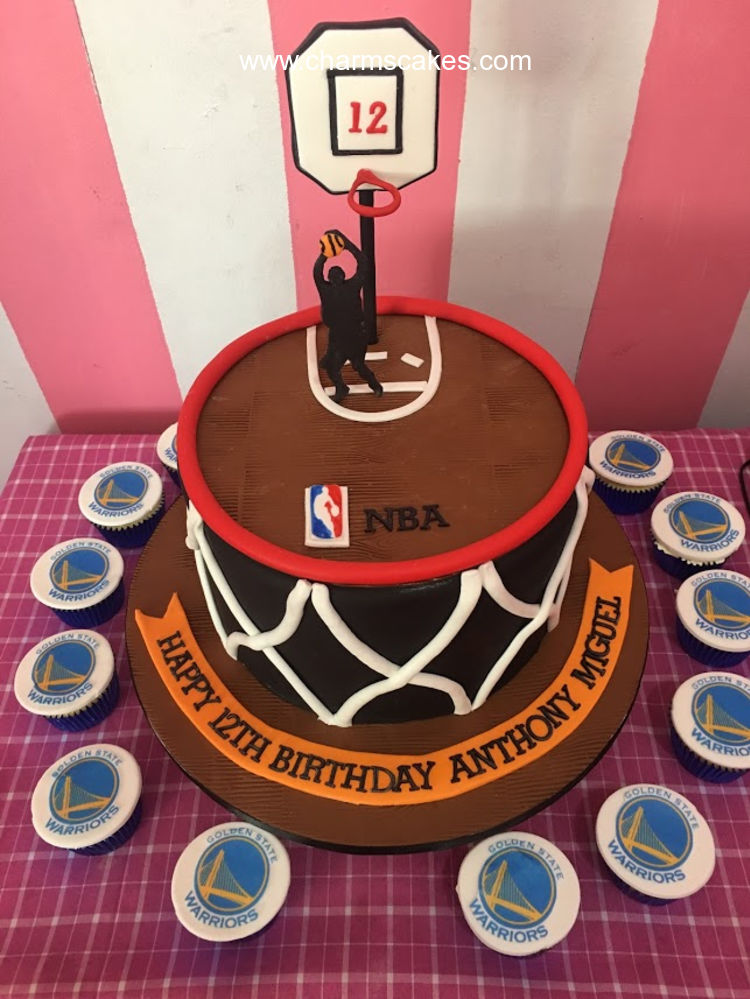 Remarkable Custom Cake Lebron James Cake Charms Cakes And Cupcakes Funny Birthday Cards Online Alyptdamsfinfo