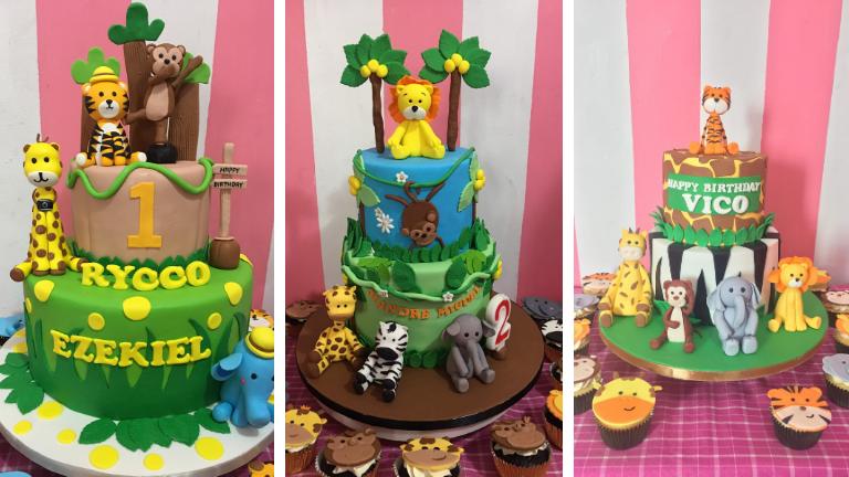Jungle Safari Customized Cakes