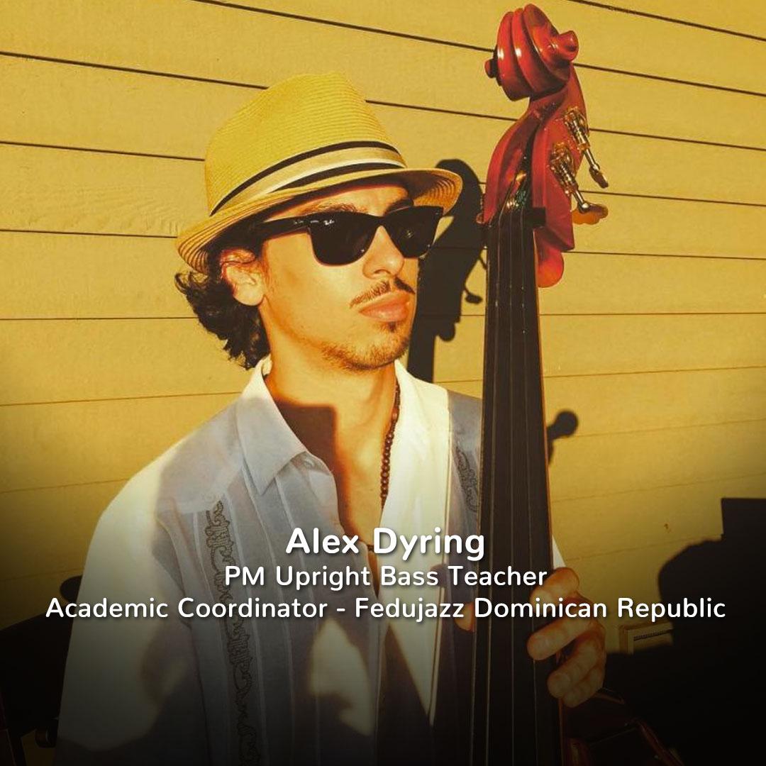 Alex Dyring, Practicing Musician Upright Bass Teacher