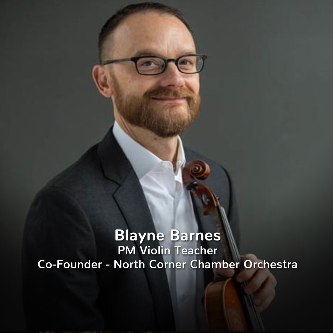 Blayne Barnes, Practicing Musician Violin Teacher