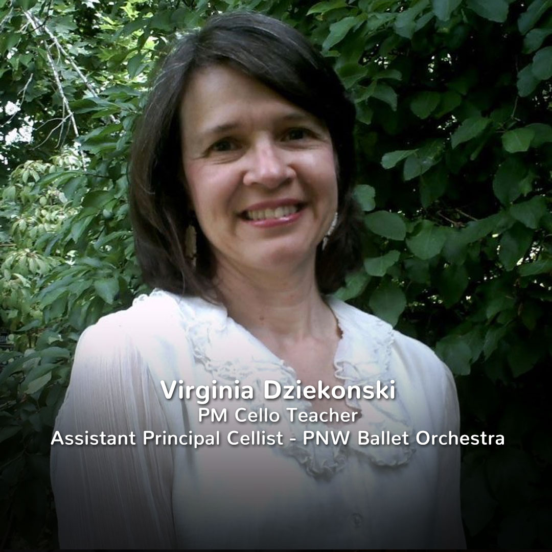 Virginia Dziekonski, Practicing Musician Cello Teacher