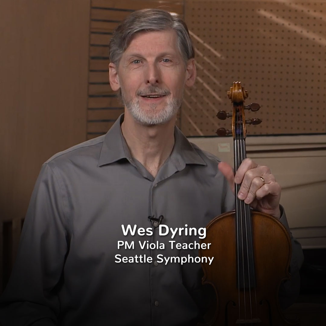 Wes Dyring, Practicing Musician Viola Teacher