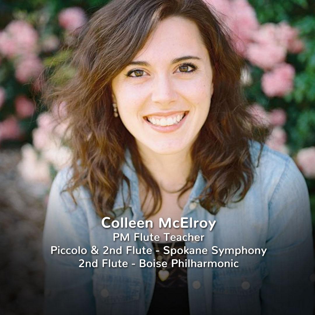 Colleen McElroy, Practicing Musician Flute Teacher