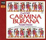 Carl Orff: Carmina Burana - XRCD24