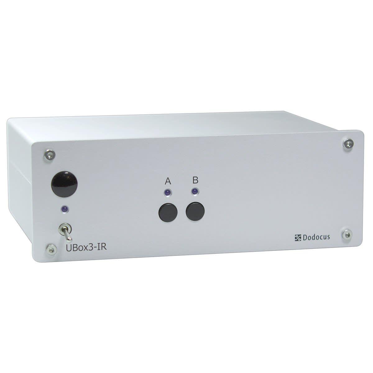 ✅ Dodocus UBox3-IR Lautsprecher-Umschalter mit Fernbedienung