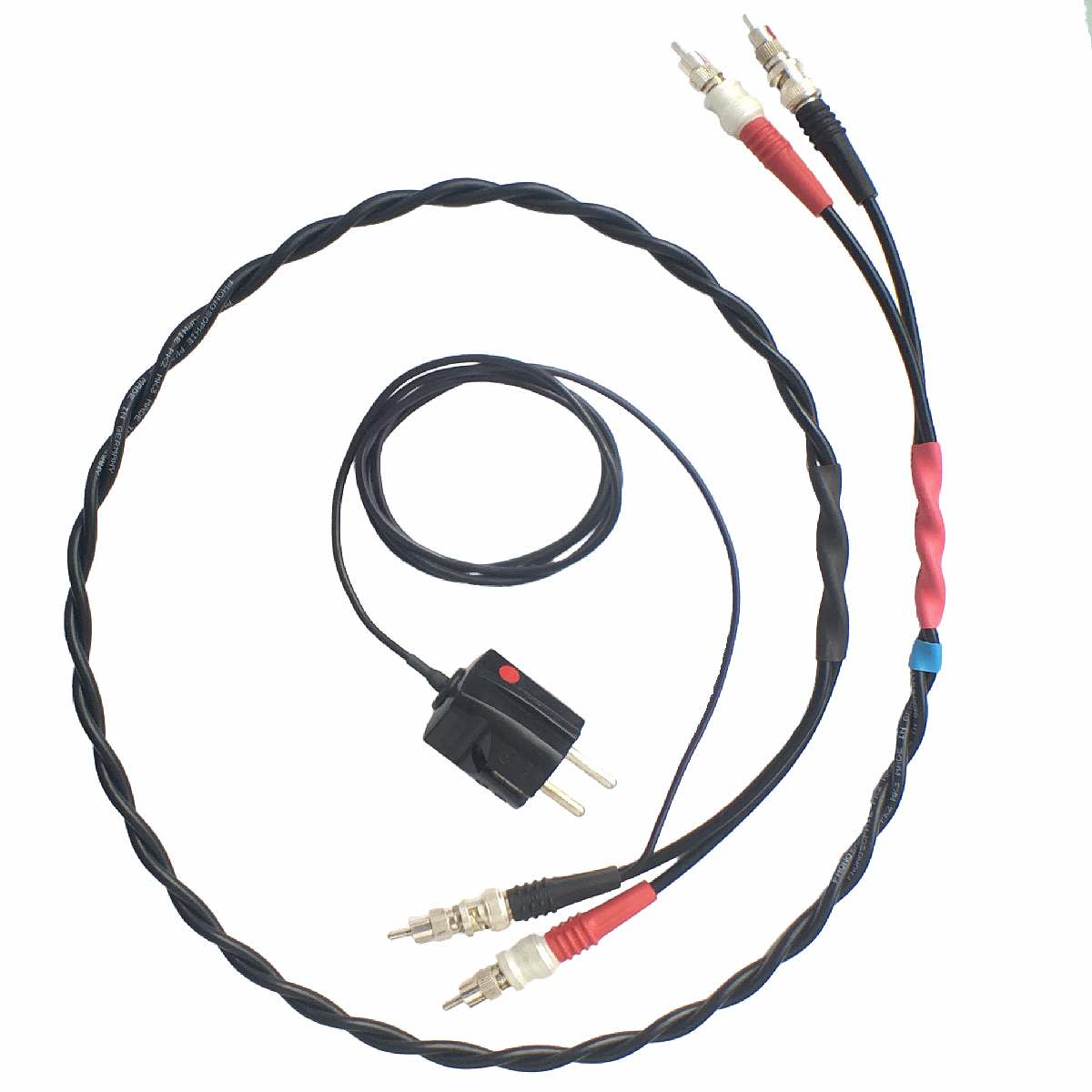 Phonosophie Nf Kabel 2 Mk 31 Mit Erdungsstecker Wiring Accessories