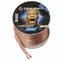 Oehlbach SB-Rolle Home HiFi Lautsprecher Kabel 2 x 2,5 mm² / Minispule