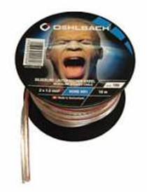 Oehlbach Silverline Lautsprecher Kabel 2x1,5mm² Minispule, versilbert